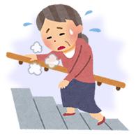 加齢による膝の痛み