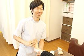 膝痛・関節痛の施術